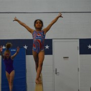 Girls Gold Level Gymnastics