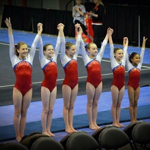 Girls Silver Level Gymnastics