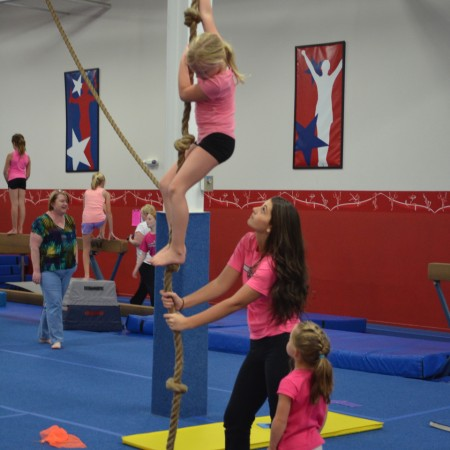 Birthday Parties at American Gymnastics in Romeo, Michigan