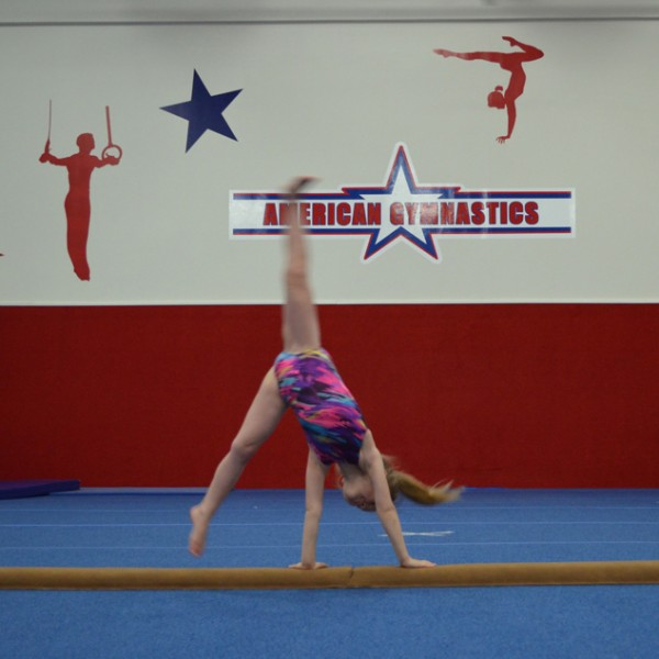 Elite Classes at American Gymnastics in Romeo, Michigan