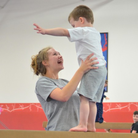 Thursday Fun Days at American Gymnastics in Romeo, Michigan