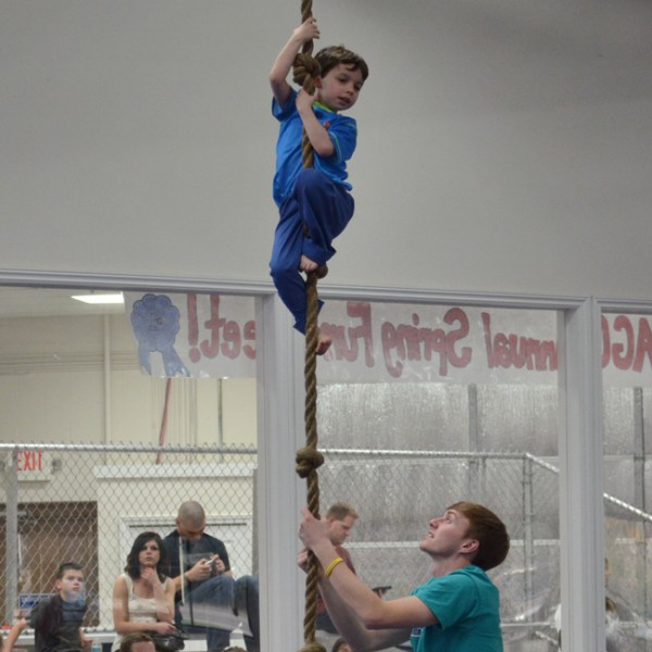 Boys Classes at American Gymnastics in Romeo, Michigan