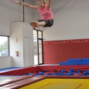 Cheerleading Classes at American Gymnastics in Romeo, Michigan