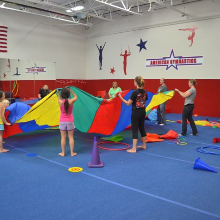 Field Trips at American Gymnastics in Romeo, Michigan