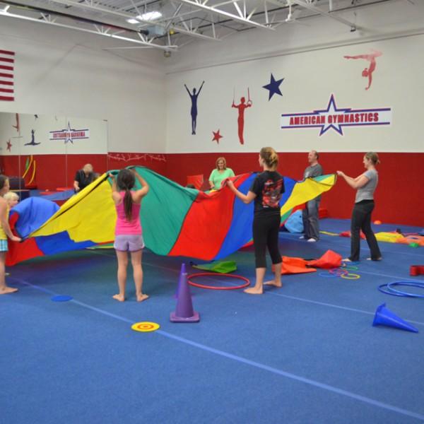 Field Trips at American Gymnastics in Romeo, Michigan