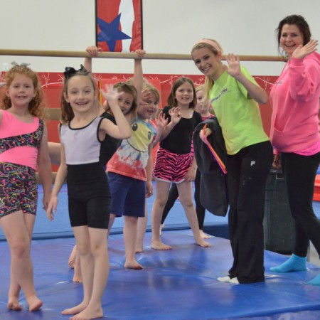 Girls Gymnastics Classes - recommended age 8 and older