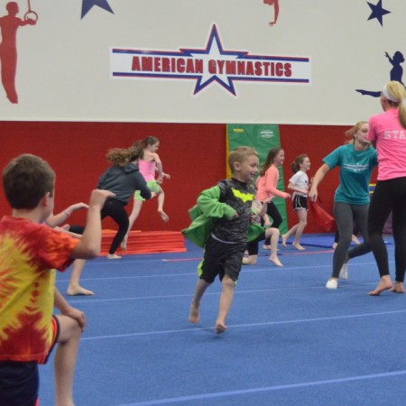 Power Play at American Gymnastics in Romeo, Michigan