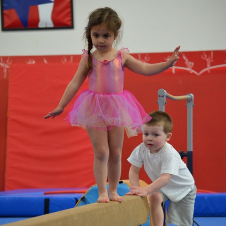 Infant through Preschool Gymnastics - 6 months through 5 years old