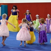 Princess Party at American Gymnastics in Romeo, Michigan