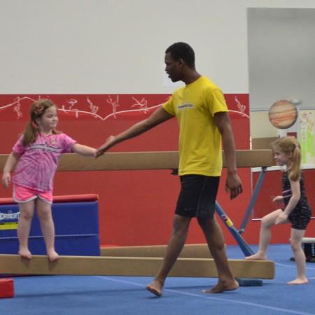 Saturday Fun Days at American Gymnastics in Romeo, Michigan