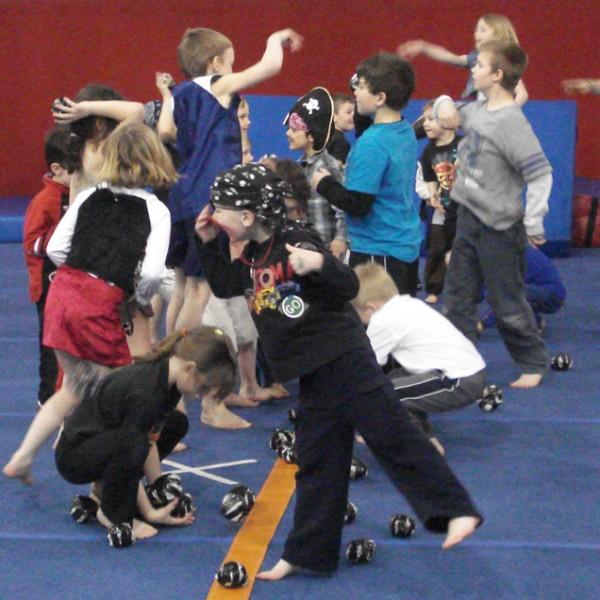 Tacky Tuesdays at American Gymnastics in Romeo, Michigan